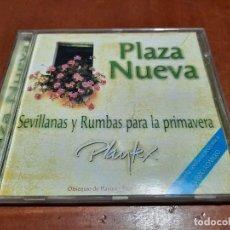 CDs de Música: PLAZA NUEVA. SEVILLANAS Y RUMBAS PARA LA PRIMAVERA. PLAYTEX. CURRO ROMERO. CD BUEN ESTADO. DIFICIL. Lote 222611563