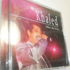CDs de Música: CD KHALED. SALOU ALA NABI. MEMBRAN MUSIC 2005 FRANCE 6 TEMAS (BUEN ESTADO). Lote 222612306