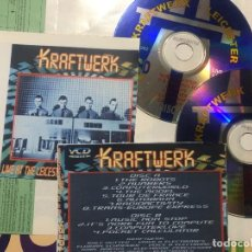 CDs de Música: KRAFTWERK - LIVE IN LEICESTER UNIVERSITY VDC DOBLE SYNTH POP UNOFFICIAL. Lote 222615462
