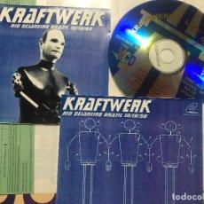 CDs de Música: KRAFTWERK - LIVE IN BRAZIL 1998 VDC SYNTH POP UNOFFICIAL. Lote 222615503