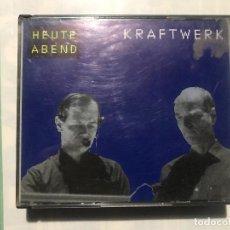 CDs de Música: KRAFTWERK - HEUTE ABEND CD DOBLE EN DIRECTO - LIVE - 1991. Lote 222615528