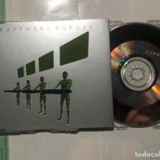 CDs de Música: KRAFTWERK - EXPO 2000 CD SINGLE PROMOCIONAL PROMO - SYNTH HPOP. Lote 222615882