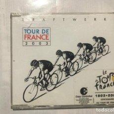 CDs de Música: KRAFTWERK - TOUR DE FRANCE 2003 CD SINGLE SYNTH POP. Lote 222615945