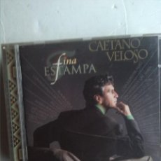 CDs de Música: CAETANO VELOSO - FINA ESTAMPA. Lote 222624161