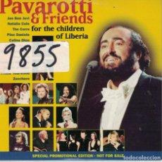 CDs de Musique: PAVAROTTI AND FRIENDS - FOR THE CHILDREN OF LIBERIA (CD CARTON COMPLETO, 17 TEMAS, PROMO DECCA 1998). Lote 222628147