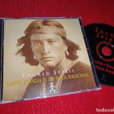 CDs de Música: SACRED SPIRIT CANTOS Y DANZAS DE LOS INDIOS AMERICANOS CD 1994 VIRGIN HOLLAND. Lote 222639557