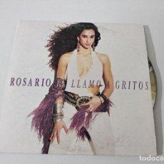 CDs de Música: ROSARIO - SINGLE PROMOCIONAL, TEMA TE LLAMO A GRITOS. Lote 222640041