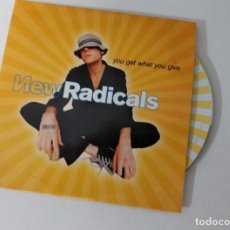 CDs de Música: NEW RADICALS - YOU GET WHAT YOU GIVE CD SINGLE PROMO 1999. Lote 222646765