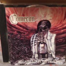 CDs de Música: COMECON – MEGATRENDS IN BRUTALITY. Lote 222647057