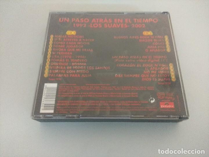 CDs de Música: CD ROCK/LOS SUAVES/UN PASO ATRAS EN EL TIEMPO/DOBLE CD. - Foto 4 - 222647287