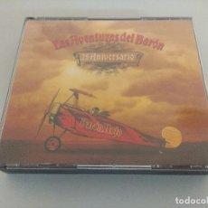 CDs de Música: CD METAL/BARON ROJO/LAS AVENTURAS DEL BARON-25 ANIVERSARIO/DOBLE CD + DVD.. Lote 222647762