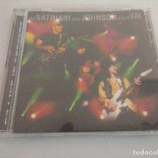 CDs de Música: CD METAL/JOE SATRIANI-ERIC JOHNSON-STEVE VAI/LIVE IN CONCERT.. Lote 222649975