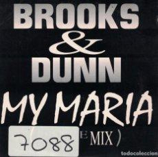 CDs de Música: BROOKS AND DUNN - MY MARIA (CDSINGLE CARTON PROMO, ARISTA RECORDS 1996). Lote 222651387