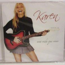 CDs de Música: KAREN - UNA VIDA QUE VIVIR - CD - 2004 - SPAIN - NUEVO. Lote 222651770