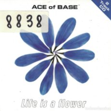 CDs de Música: ACE OF BASE - LIFE IS A FLOWER (TWO VERSIONS) (CDSINGLE CARTON, MEGA RECORDS 1998). Lote 222652136