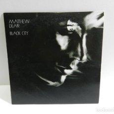CDs de Música: DISCO CD. MATTHEW DEAR - BLACK CITY. COMPACT DISC. PROMOCIONAL.. Lote 222660066