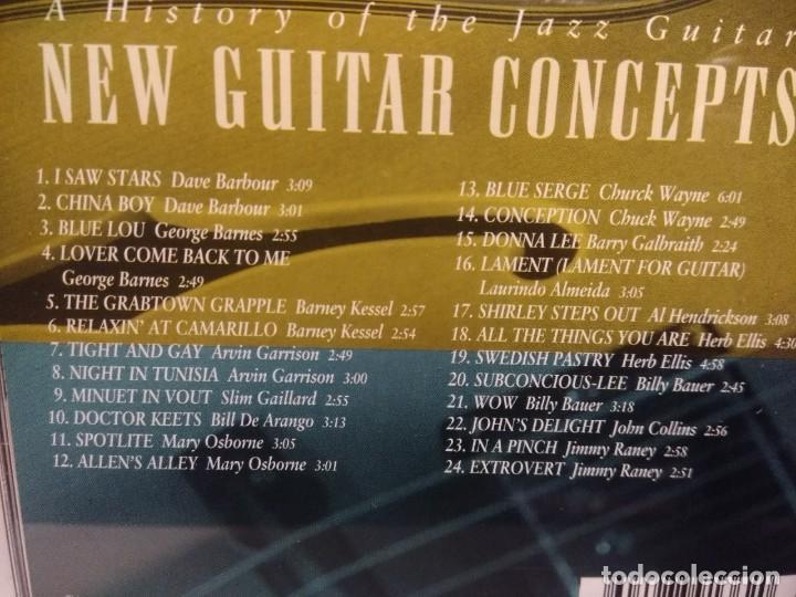 CDs de Música: 4 CD BOX : HITTIN ON ALL SIX ( STORY OF THE JAZZ GUITAR ) HERB ELLIS, AL CASEY, TEDDY BUNN, LES PAUL - Foto 4 - 222661531