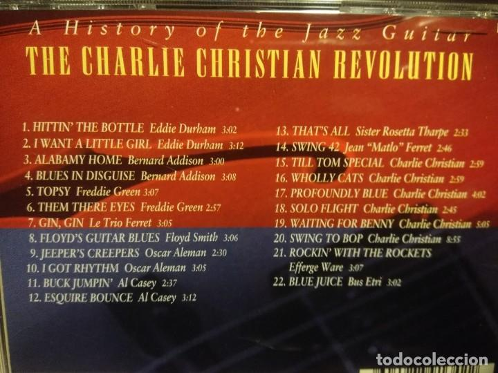 CDs de Música: 4 CD BOX : HITTIN ON ALL SIX ( STORY OF THE JAZZ GUITAR ) HERB ELLIS, AL CASEY, TEDDY BUNN, LES PAUL - Foto 7 - 222661531