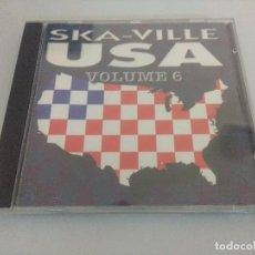 CDs de Música: CD PUNK/SKA VILLE USA VOL 6.. Lote 222669100