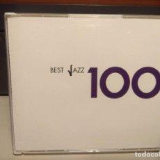 CDs de Música: 6 CD BOX : BEST JAZZ 100 : CHET BAKER, DINAH SHORE, STAN KENTON, COLEMAN HAWKINS, RAY BARRETO, ETC. Lote 222675455