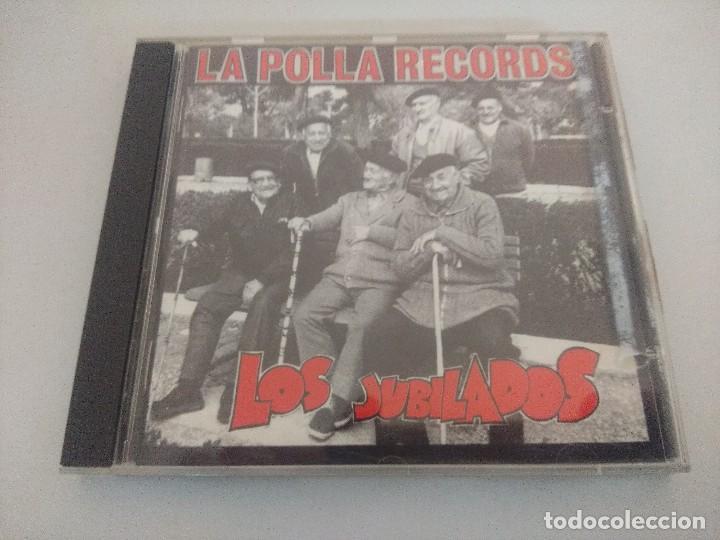CD PUNK/LA POLLA RECORDS/LOS JUBILADOS. (Música - CD's Heavy Metal)