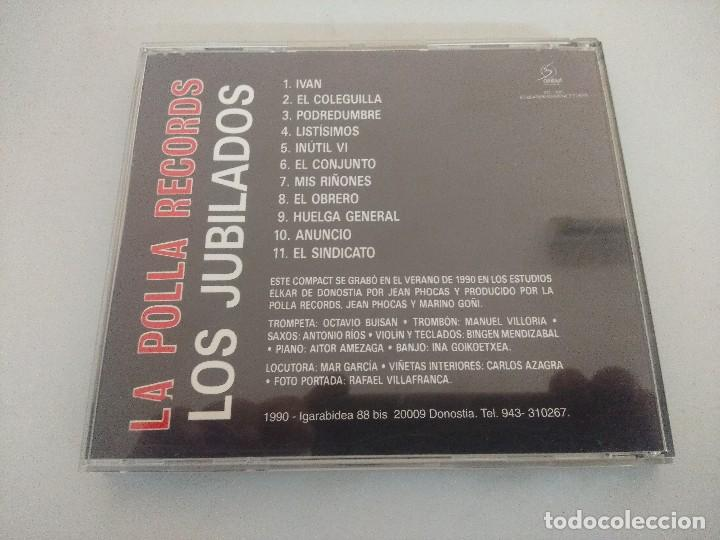 CDs de Música: CD PUNK/LA POLLA RECORDS/LOS JUBILADOS. - Foto 3 - 222675818