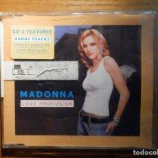 CDs de Música: CD - COMPACT DISC - SINGLE PROMOCIONAL - MADONNA - LOVE PROFUSION - 3 TEMAS - WARNER 2003. Lote 222681748