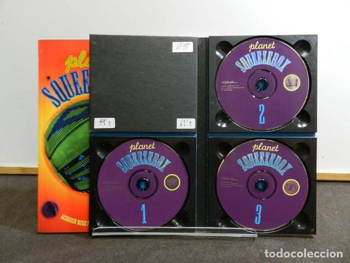 CDs de Música: EDICIÓN ESPECIAL 3 CD. VARIOS - PLANET SQUEEZEBOX. COMPACT DISC. RARO. RAREZA. - Foto 4 - 222682976