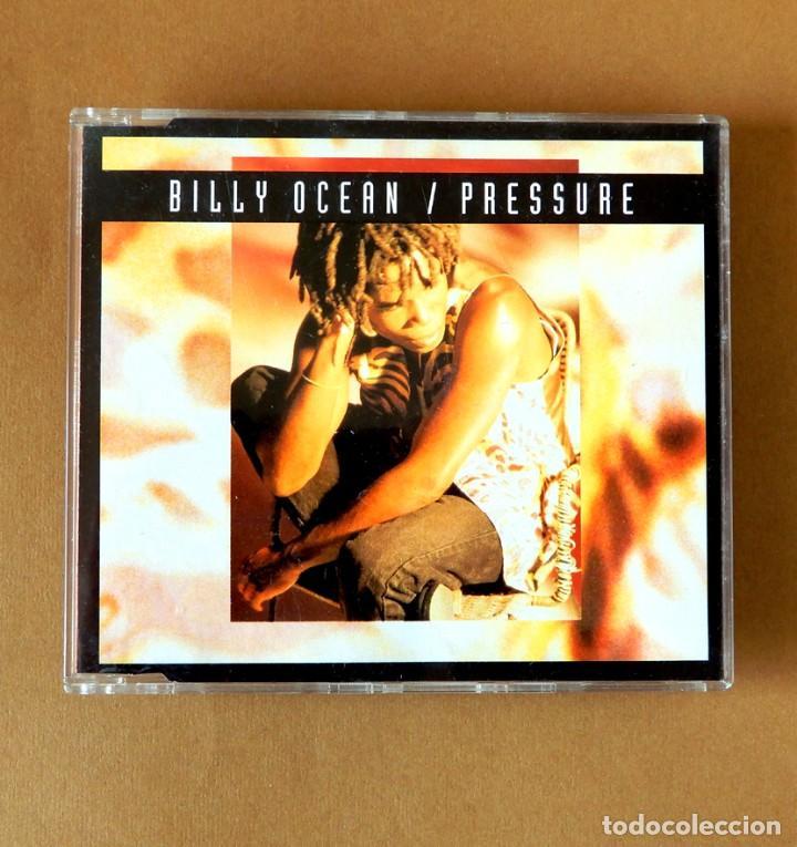 PRESSURE - BILLY OCEAN - REMIXES - CD SINGLE DEL AÑO 1993 - 4 TEMAS - ZOMBA - JIVE - COMO NUEVO (Música - CD's Jazz, Blues, Soul y Gospel)