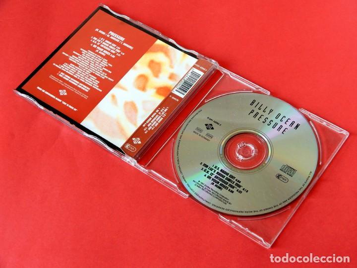 CDs de Música: PRESSURE - BILLY OCEAN - REMIXES - CD SINGLE DEL AÑO 1993 - 4 TEMAS - ZOMBA - JIVE - COMO NUEVO - Foto 3 - 222692477