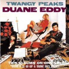 CDs de Música: DUANE EDDY & THE REBELS / DUANE EDDY - TWANGY PEAKS - CD. Lote 222692548