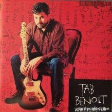 CDs de Música: TAB BENOIT - WHAT I LIVE FOR - CD. Lote 222695127
