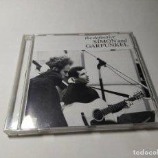 CD de Música: CD - MUSICA - SIMON & GARFUNKEL ?– THE DEFINITIVE SIMON & GARFUNKEL. Lote 222695851