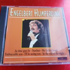 CDs de Música: CD-ENGELBERT HUMPERDICK-AS TIME GOES BY-1999-THE ENTERTAINERS-VER FOTOS. Lote 222696808
