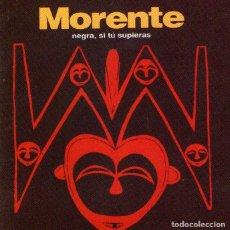 CDs de Música: ENRIQUE MORENTE - NEGRA, SI TÚ SUPIERAS - CD ALBUM - 10 TRACKS - NUEVOS MEDIOS - AÑO 1992. Lote 222699413