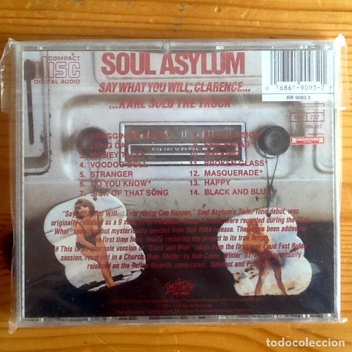 CDs de Música: SOUL ASYLUM : SAY WHAT YOU WILL, CLARENCE [EEC 1993] CD - Foto 2 - 222701012