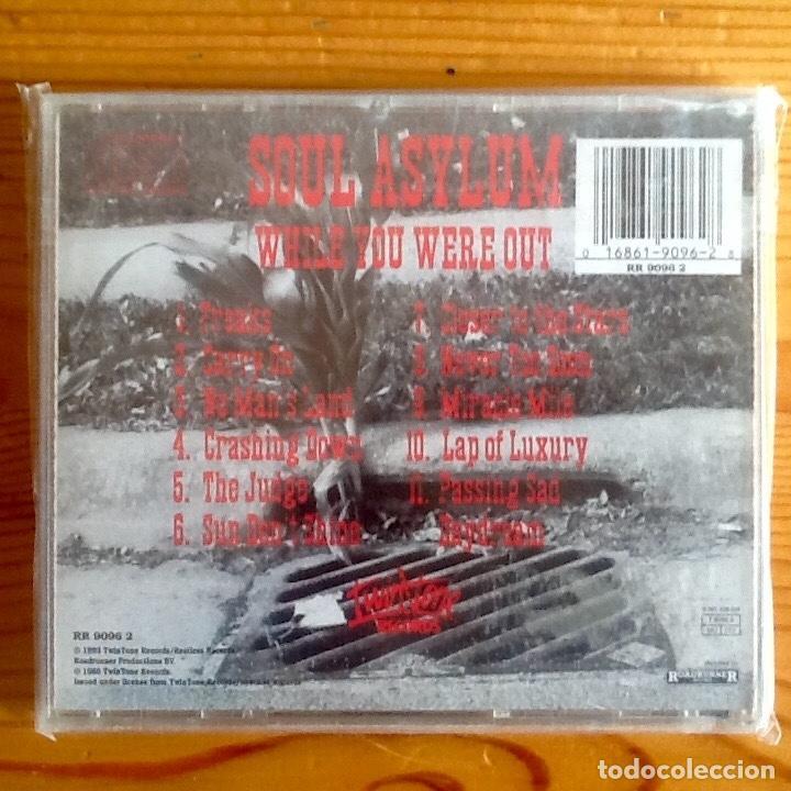 CDs de Música: SOUL ASYLUM : WHILE YOU WERE OUT [EEEC 1993] CD - Foto 2 - 222701527