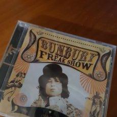 CDs de Música: CD BUNBURY. FREAK SHOW EL ÁLBUM. NUEVO PRECINTADO. Lote 222704718
