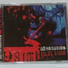 CDs de Música: GERONACION - EN EL SITIO. Lote 222709460