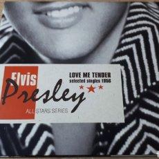 CDs de Música: ELVIS PRESLEY LOVE ME TENDER SELECTED SINGLES 1956. Lote 222716957
