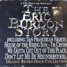 CDs de Música: THE ERIC BURDON AND THE ANIMALS STORY DOBLE CD. Lote 222717207