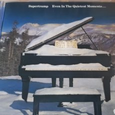 CDs de Música: SUPERTRAMP EVEN IN THE QUIETEST MOMENTS. Lote 222717371