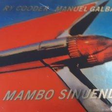 CDs de Música: RY COODER MANUEL GALVAN MAMBO SINUENDO. Lote 222717497