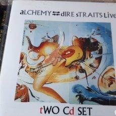 CDs de Música: DIRE STRAITS LIVE ALCHEMY DOBLE CD. Lote 222718962