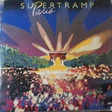 CDs de Música: SUPERTRAMP PARIS DOBLE CD EN DIRECTO. Lote 222719191