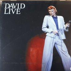CDs de Música: DAVID BOWIE LIVE DOBLE CD. Lote 222719263