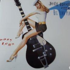 CDs de Música: JEFF BECK CRAZY LEGS. Lote 222719592