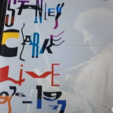 CDs de Música: STANLEY CLARKE LIVE 1976-77. Lote 222719652