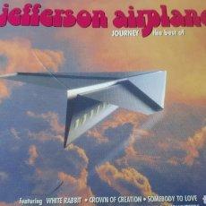 CDs de Música: JEFFERSON AIRPLANE JOURNEY THE BEST OF. Lote 222724572