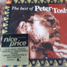CDs de Música: PETER TOSH THE BEST OF PETER TOSH. Lote 222724727
